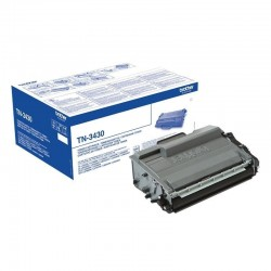 toner negro brother tn-3430...