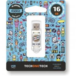 pendrive 16gb tech one tech...