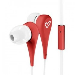 earphones style 1+ red