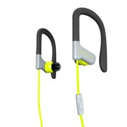earphones sport 1 yellow mic