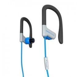 earphones sport 1 blue mic