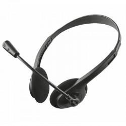 auriculares trust ziva chat...