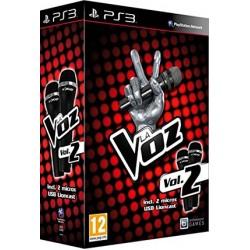 la voz vol2 + 2 microfonos ps3