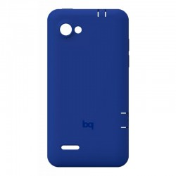 back cover bq aquaris 4.5 azul