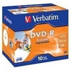 dvd-r verbatim -r 16x 4.7gb...