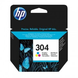 cartucho hp 304 color n9k05ae