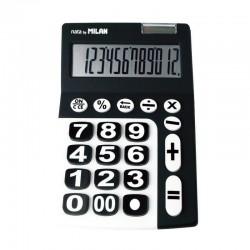 calculadora milan negra 12...