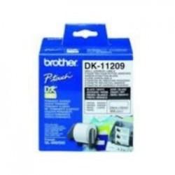 etiquetas brother dk11209...