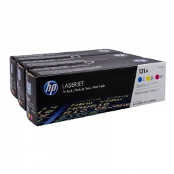 pack toner color hp nº131a...