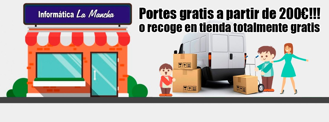 PORTES GRATIS A PARTIR DE 200€